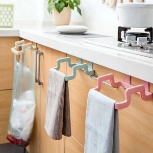 Garbage Bag Holder Dustbin & Towel Rack