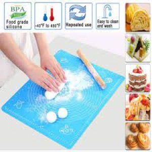 Measuring Baking Silicone Mat For Pastry & Roti Rolling