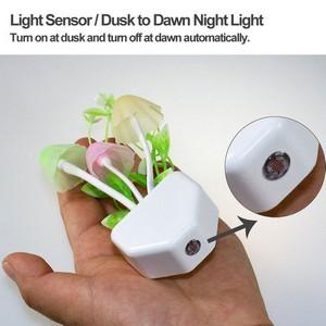 2 Pcs Mushroom Sensor Lamp