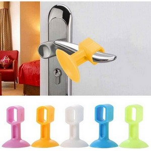 Mini Silicon Door Stopper Pack of 4